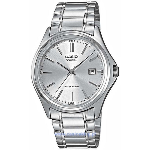 Casio MTP1183A-7A Women's Analog Display Quartz Watch, Silver Stainless Steel Band, Round 36mm Case