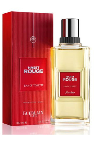 Habit Rouge Guerlain 3.4 Edt Sp