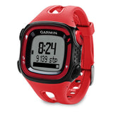 Garmin 010N124101 Forerunner 15 Large, Red/Black, Certified Refurbished