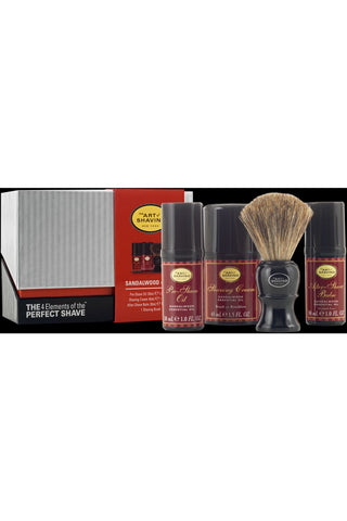 The Art Of Shaving Sandalwood Mid Size The 4 Elements Of The Perfect Shave
