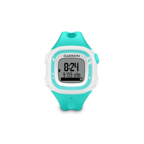 Garmin 010N124121 Forerunner 15 Small, Teal/White, Certified Refurbished