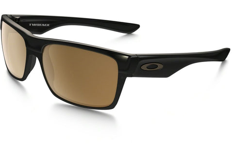 Oakley OO9189-03 Twoface Men's Sunglasses, Polished Black Frame, Dark Bronze Polarized 60mm Lenses
