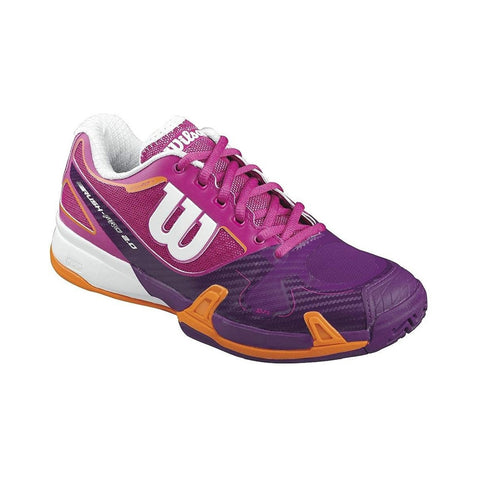 Wilson WRS321060E075 Women's Rush Pro 2.0 Tennis Shoe, Size 7.5 W UK