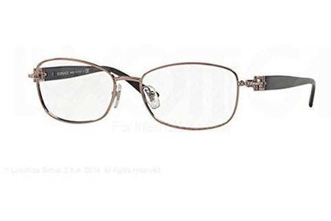 Versace VE 1226B 1333 Eyeglasses, Violet Frame, Clear 54mm Lenses