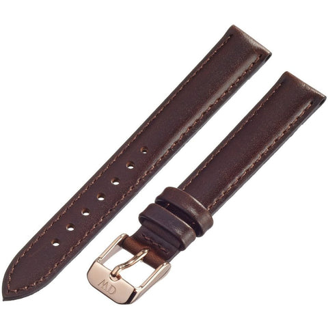 Daniel Wellington 1003DW Bristol, Brown Leather Band, 16mm Width