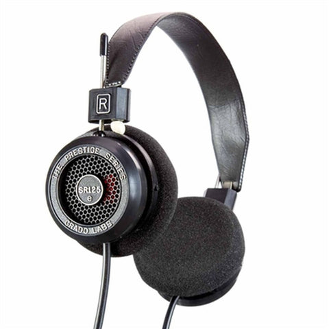 Grado SR125e Prestige Series Headphones, Dynamic Open Air, 20-20,000Hz Frequency Response, 32Ohms Impedance