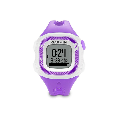 Garmin 010N124122 Forerunner 15 Small, Violet/White, Certified Refurbished