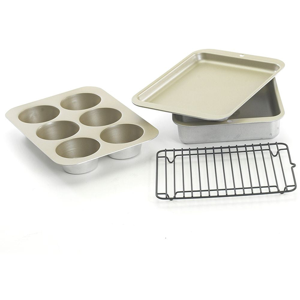 Nordic Ware 5 Pc Compact Ovenware Set, Item No. 43215