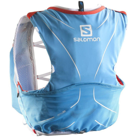 Salomon L37162400-2XS S-Lab Advanced Skin 3 5 Set Racing Vest, Blue 2XS
