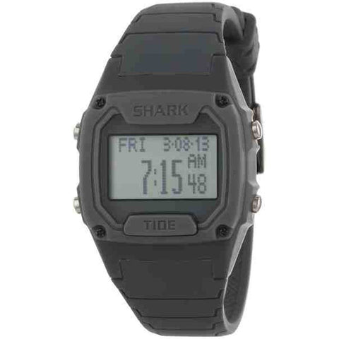 Freestyle Unisex 101813 Shark Classic Tide Grey Digital Watch, Grey Silicone Band, Rectangle 38mm Case