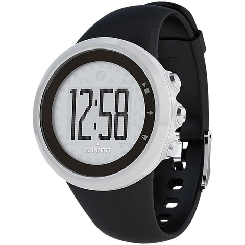 Suunto SS015862000 M1 Black Digital Display Quartz Watch, Black Elastomer Band, Round 43.6mm Case