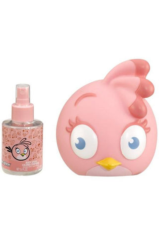 Angry Birds Pink 3.4 Cologne Sp + Coin Bank