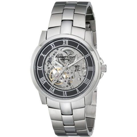 Kenneth Cole KC3828 Automatic Men's Analog Watch, Stainless Steel Band, Round 42mm Case
