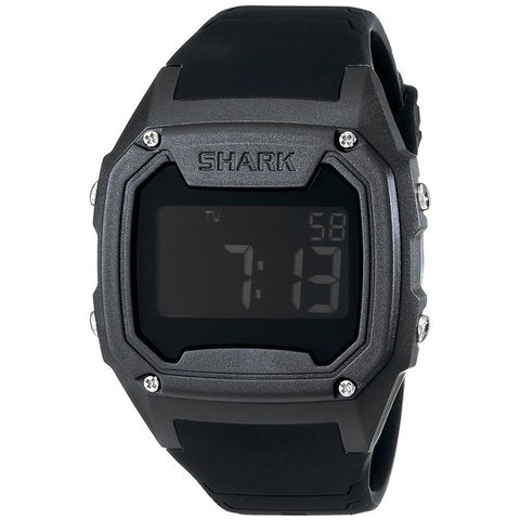 Freestyle Men's 101055 Killer Shark Digital Watch, Black Silicone Band, Square 48mm Case