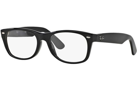Ray-Ban RX5184 2000 New Wayfarer Optics Eyeglasses, Black Frame, Clear 50mm Lenses