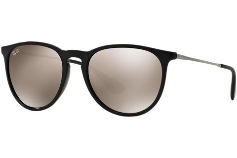Ray-Ban RB4171 601/5A Erika Color Mix Sunglasses, Black Gunmetal Frame, Gold Mirror 54mm Lenses