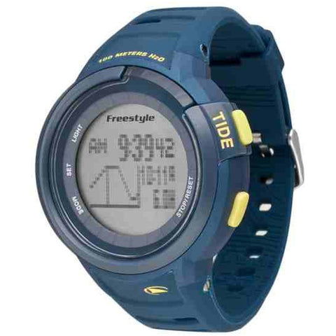 Freestyle Unisex 10022920 Mariner Tide Digital Watch, Blue Silicone Band, Round 50mm Case