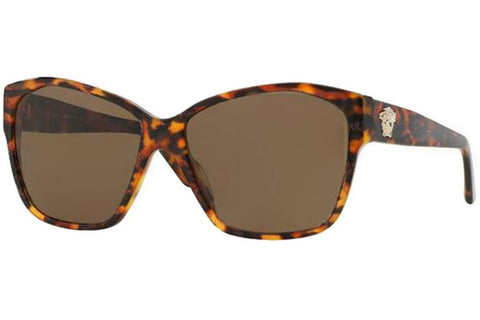 Versace VE 4277 511573, Animalier Brown/Havana Brown Frame, Brown 60mm Lenses
