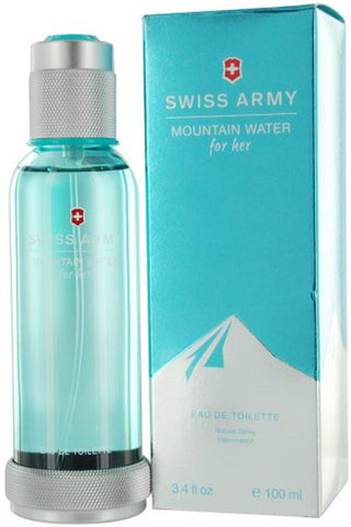 Swiss Army Mountain Water Tester 3.4 Edt Sp For Women