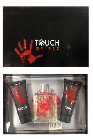 Touch Of Red 3 Pcs Set For Men: 3.4 Edt Sp