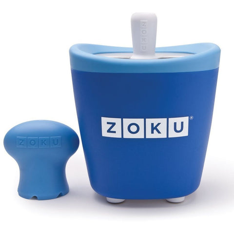 Zoku ZK110-BL Single Pop Maker, Blue Tool Set Materials are BPA and Phthalate Free