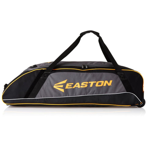 Easton A159001BK E300W Wheeled Baseball Bag, Black