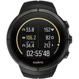 Suunto SS022654000 Spartan Ultra (HR) Matrix Display Quartz Watch, Black Silicone Band, Round 50mm Case
