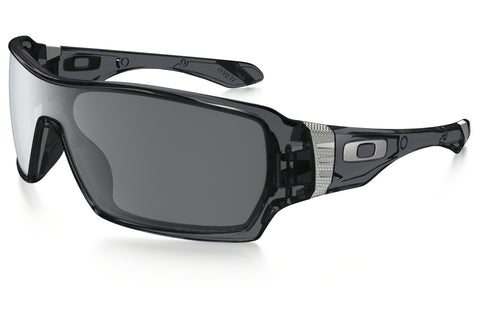 Oakley OO9190 05 Offshoot Sunglasses, Crystal Black Frame, Black Iridium Polarized 132mm Lenses