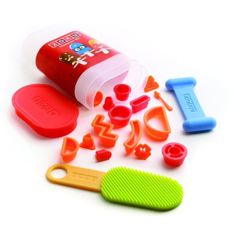 Zoku ZK108 17 Piece Character Kit, Includes a Convenient Storage Case, BPA and Phthalate Free