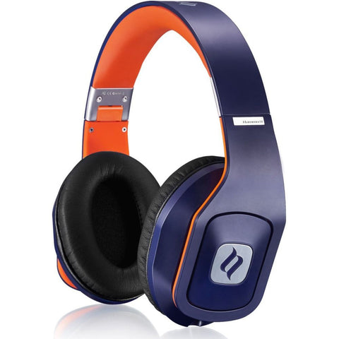Noontec Hammo S Hi-Fi Over-Ear Headphone, Blue
