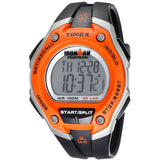 Timex T5K529 Ironman 30 Lap Digital Display Chronograph Quartz Watch, Black Resin Band, Round 43.3mm Case
