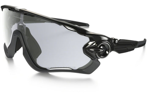 Oakley OO9290-14 Jawbreaker Polished Black Frame, Clear Black Iridium Photochromic Activated 53mm Lenses