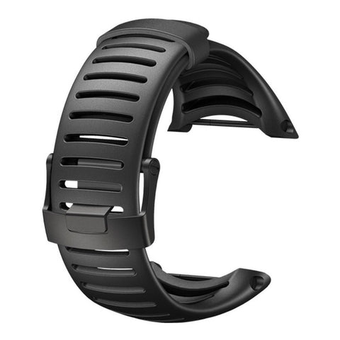 Suunto SS018650000 Core All Black Light Elastomer Strap