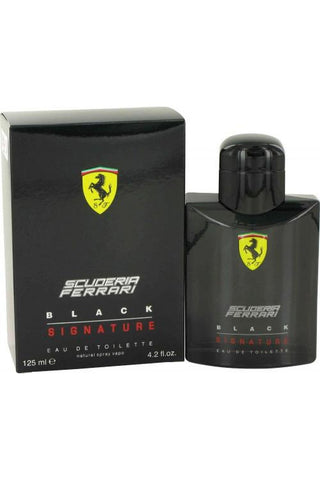 Ferrari Black Signature 4.2 Edt Sp For Men