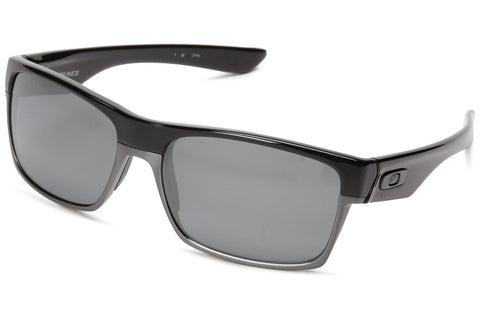 Oakley 0OO9189 918901 Twoface Sunglasses, Polished Black Frame, Black Iridium Polarized 60mm Lenses