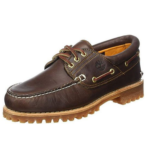 Timberland C30003 Men's 3-Eye Classic Lug Shoes, Brown Pull-Up, Size 9 W US