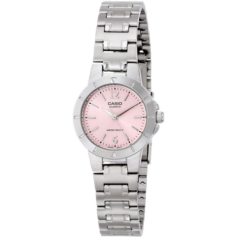 Casio LTP-1177A-4A1 Analog Display Quartz Watch, Silver Stainless Steel Band, Round 30mm Case