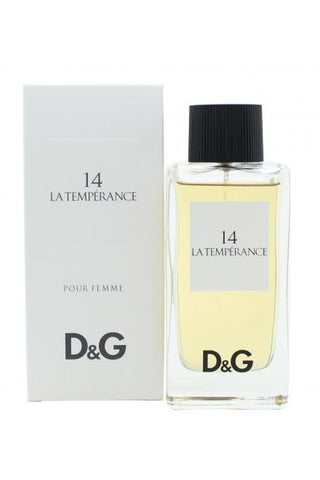Dolce & Gabbana # 14 La Temperance 3.3 Edt Sp For Women