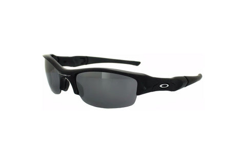 Oakley 12-900 Men's Flak Jacket Sunglasses,Jet Black Frame, Polarized Black 63mm Lenses