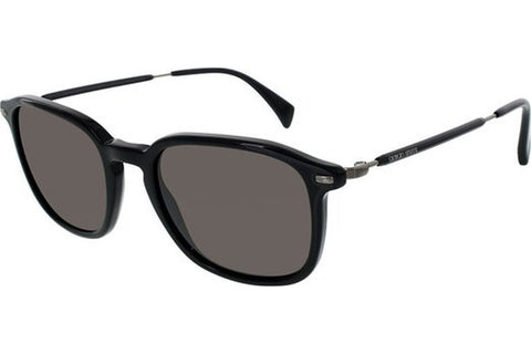Giorgio Armani GA924/S ANS/L8 Sunglasses, Black Frame, Grey 50mm Lenses