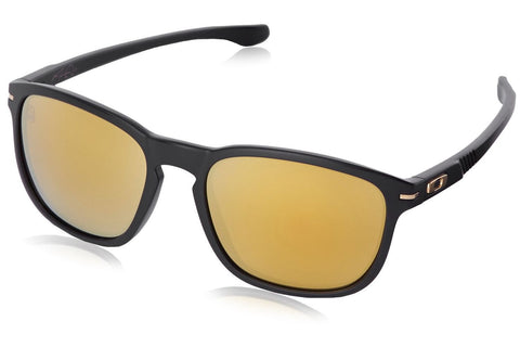 Oakley OO9223-04 Men's Shaun White Enduro Sunglasses, Matte Black Frame, Gold Iridium 55mm Lenses