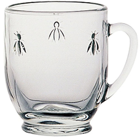 La Rochere Abeille Mug Model No. 605501, 12.34oz, Set of 6