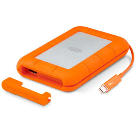 LaCie Rugged 1TB USB 3.0 Thunderbolt Portable External Hard Drive