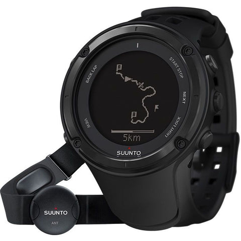 Suunto Ambit2 Watch with Heart Rate Monitor, GPS, Odometer, Altimeter and more