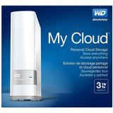 Western Digital MyCloud 3TB Cloud Storage NAS Ethernet Hard Drive