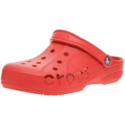 Crocs 10126-610 Unisex Baya Clog Sandals, Color: Red, Size: M4W6 M US