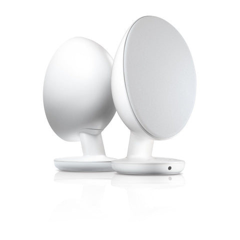 KEF EGG Digital Hi-Fi Speaker System, Pure White