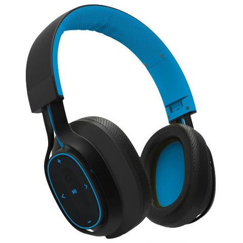 BlueAnt Pump Zone Over-the-Ear Wireless Headphones - Blue