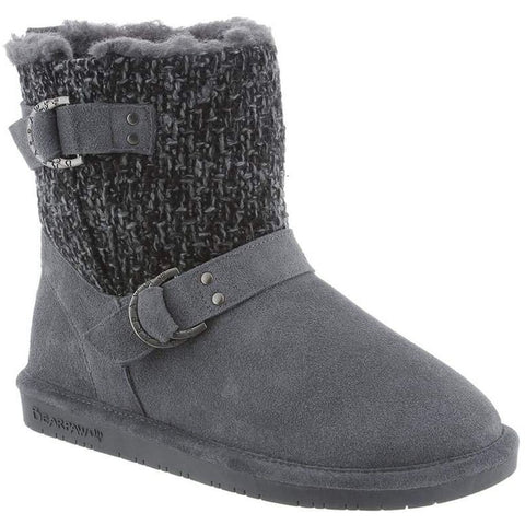 Bearpaw 1807W Women's Nova 7in Tall Boots, Charcoal