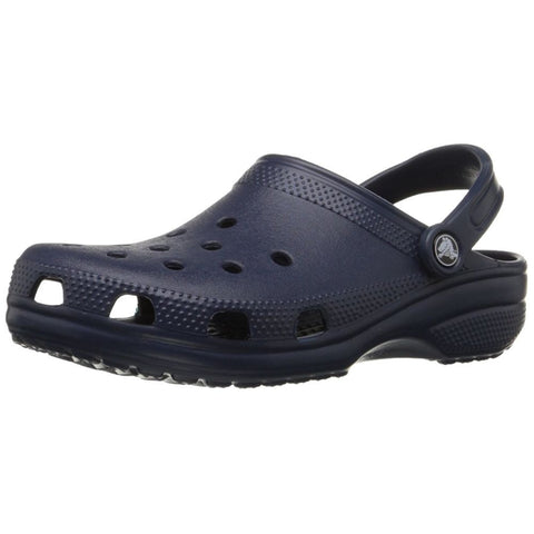 Crocs 10006-410 Kid's Classic Clog Sandals, Color: Navy, Size: M2W4 Little Kid